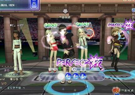 劲舞团游戏设计玩法非常不错