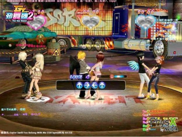 人们喜欢加入劲舞团这些游戏区