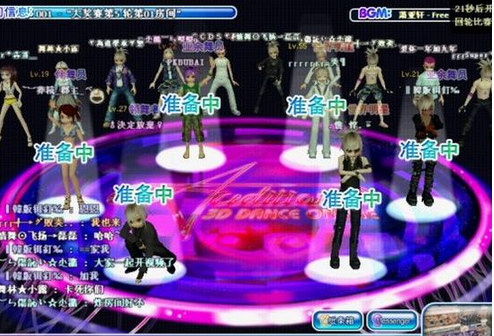 劲舞团如何创建游戏人物形象