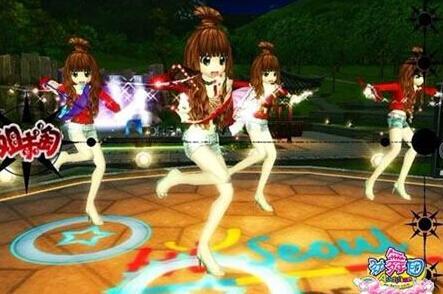 劲舞团舞蹈世界